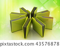 office folder with documents 43576878