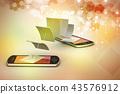 전화, 핸드폰, 휴대폰 43576912