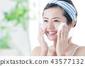 洗臉泡沫清潔美容女人護膚美容 43577132