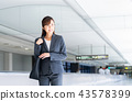 airport, female business person, business 43578399