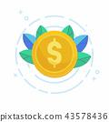 coin design dollar 43578436