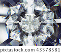 diamond structure extreme closeup and kaleidoscope 43578581