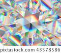 diamond structure extreme closeup and kaleidoscope 43578586