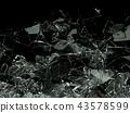 glass, crash, destruction 43578599