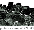 glass, crash, destruction 43578603