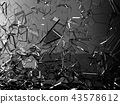 glass, crash, destruction 43578612