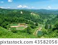 【니가타 현 나가오카] 山古志 계단식 선반 연못의 여름은 아름다운 녹색의 계절 43582056