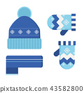 Winter Hat and Scarf 43582800