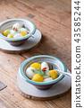 Sweet sake white ball Zenzai 43585244