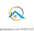 Property and Construction Logo design 43587325
