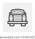 classic car icon 43592202