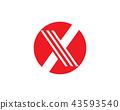 X logo and symbol 43593540