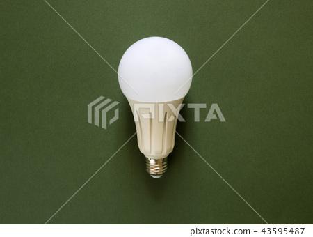 New powerful energy-saving, LED light bulb  43595487