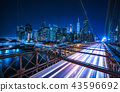 brooklyn bridge,new york,08-26-17 43596692