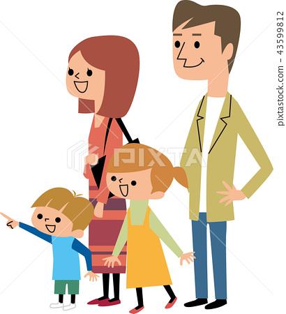 等待祖父母的家庭 43599812
