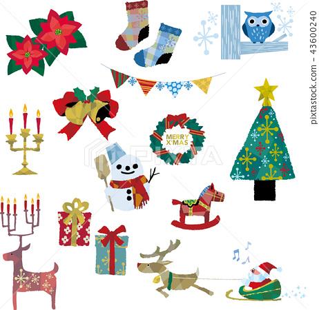各種聖誕裝飾品 43600240