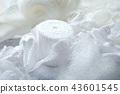 흰 수예 재료 43601545