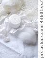 흰 수예 재료 43601552