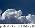 ท้องฟ้ากลางฤดูร้อนและเมฆวิธีการพัฒนา 43602930