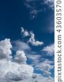 ท้องฟ้ากลางฤดูร้อนและเมฆวิธีการพัฒนา 43603570