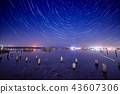 Lake at night 43607306