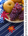 grape, pear, fruit 43608296