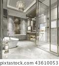 卫生间 浴室 装饰 43610053