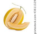 哈密瓜 水果 甜瓜 43611329