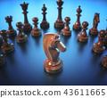 棋 騎士 遊戲 43611665