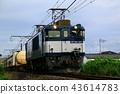 รถไฟบรรทุกสินค้าขับเคลื่อนด้วยตู้รถไฟไฟฟ้า 43614783