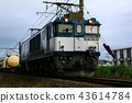 รถไฟบรรทุกสินค้าขับเคลื่อนด้วยตู้รถไฟไฟฟ้า 43614784