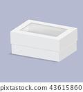 벡터, 상자, 박스 43615860