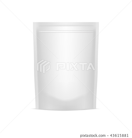 Blank of doy pack for your design. mock up. Vector 43615881