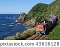 火車 貨運列車 貨運 43616128