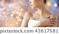 woman, jewelry, earring 43617581