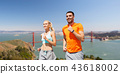 couple,running,happy 43618002
