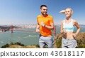 couple,running,jogging 43618117