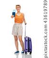 woman travel trip 43619789
