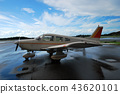 small aircraft, airport, light aircraft 43620101