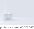 Minimal concept, Laptop on table 43621067
