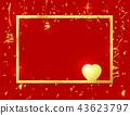 gold frame background 43623797