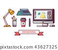 design, computer, tablet 43627325
