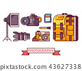 Photography Icons Set 43627338