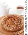 糕點 西式甜點 餡餅 43627385