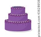 birthday, cake, cream 43628658
