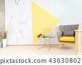 椅子 家具 室内装修 43630802