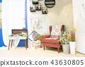 椅子 家具 室内装修 43630805