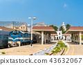 Passenger train at Oran Station in Algeria 43632067