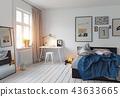 bedroom, room, interior 43633665