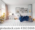 bedroom, room, interior 43633666